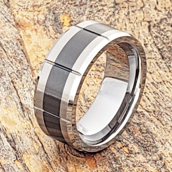 virgo-brushed-black-inlay-ceramic-9mm-rings