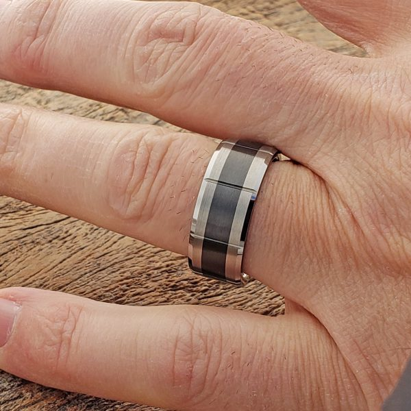 virgo-brushed-black-inlay-ceramic-rings-9mm