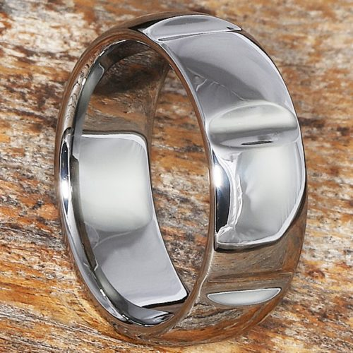 Vulcan Polished Unique Rings