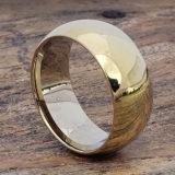 10mm eclipse groomsmen gold tungsten rings