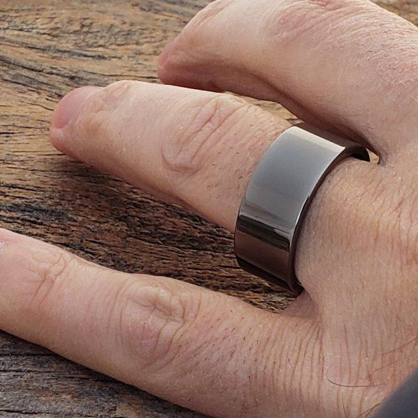 10mm-europa-black-ice-gunmetal-tungsten-rings