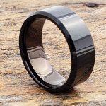 10mm-orion-mens-beveled-black-tungsten-rings