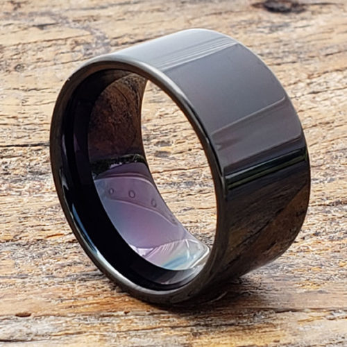 Europa Black Statement Rings