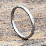 2mm metropolis engineer pinky stackable rings