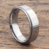 7mm obsession step down edges tungsten wedding bands