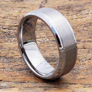 8mm handmade tungsten wedding bands