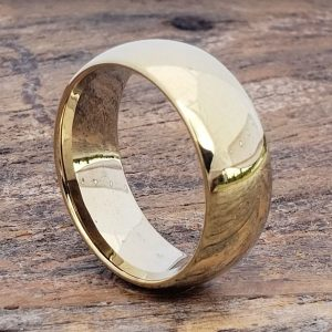 9mm-eclipse-polished-gold-tungsten-rings