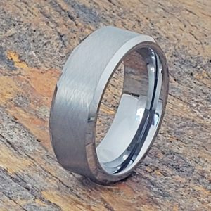 athens-cross-brush-tungsten-wedding-bands