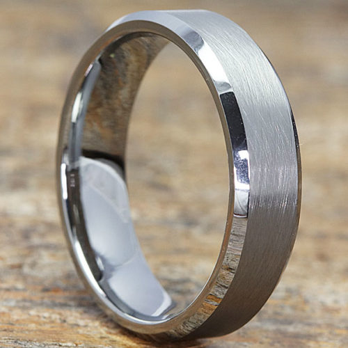 Athens Florentine Womens Tungsten Rings