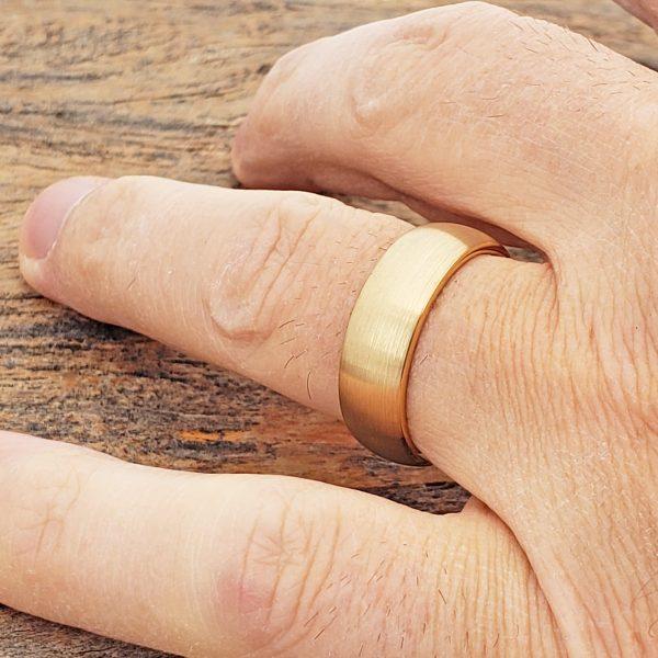 bellatrix-antique-brushed-gold-tungsten-7mm-rings