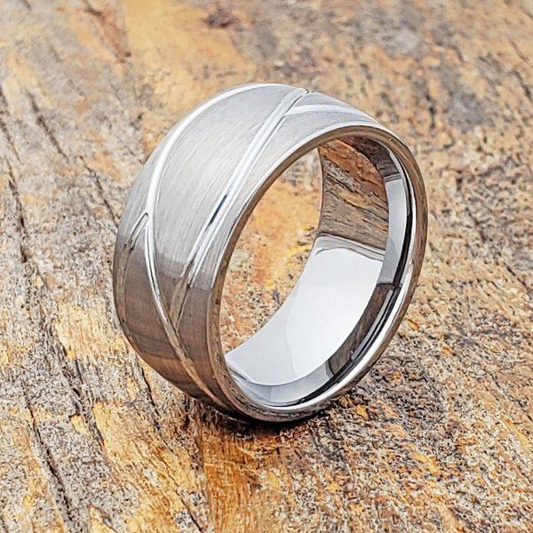 caesar-brushed-10mm-mens-carved-rings
