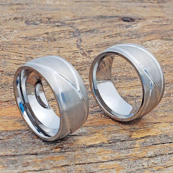 caesar-brushed-mens-carved-10mm-rings