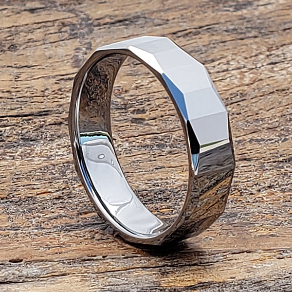 comfort-fit-mens-faceted-tungsten-rings