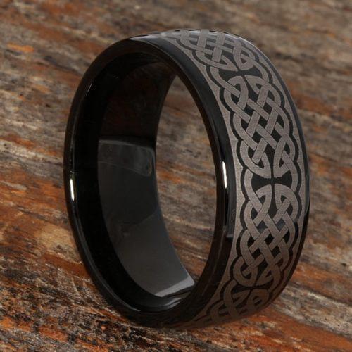 Crux Celtic Mens Cross Rings