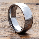 cut shiny mens parallel faceted rings