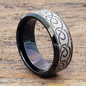 dublin black infinity rings