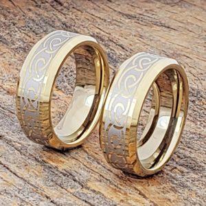 dublin-gold-knot-beveled-infinity-rings