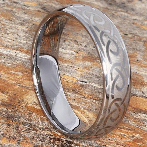Dublin Silver Knot Infinity Rings