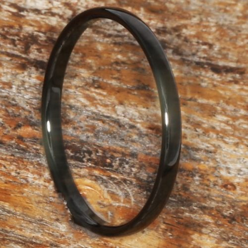 Eclipse Black Womens Stackable Rings
