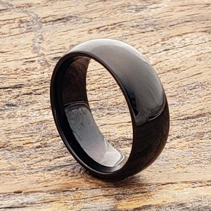 eclipse-polish-dome-black-tungsten-rings