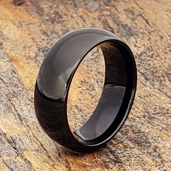 eclipse-polished-dome-8mm-black-tungsten-rings