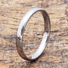 eclipse silver stackable ring