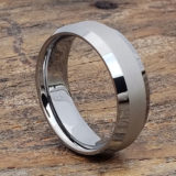 eternal laser engraved tungsten wedding bands