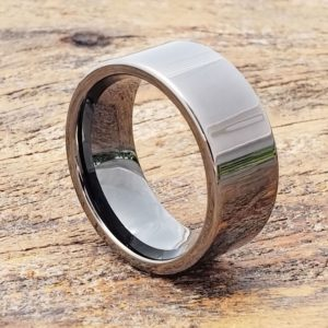 europa-black-ice-gunmetal-tungsten-rings