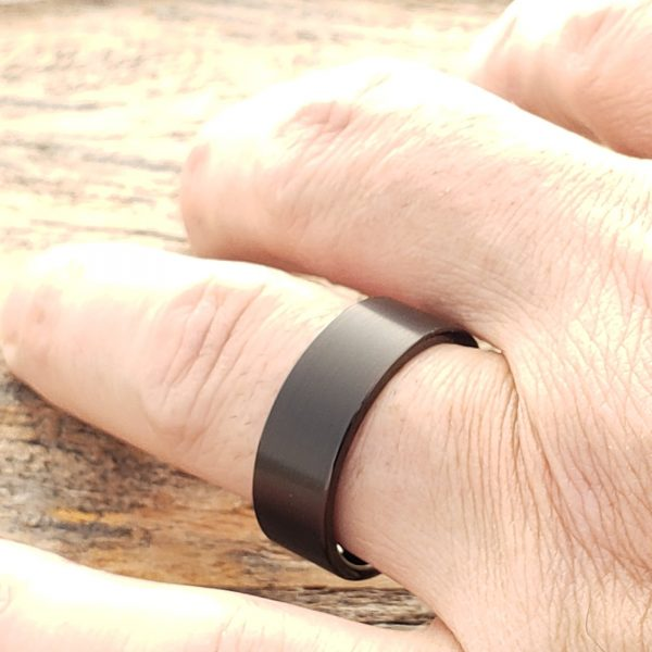 europa-flat-brushed-black-8mm-tungsten-rings