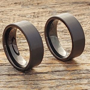 europa-flat-brushed-black-tungsten-rings