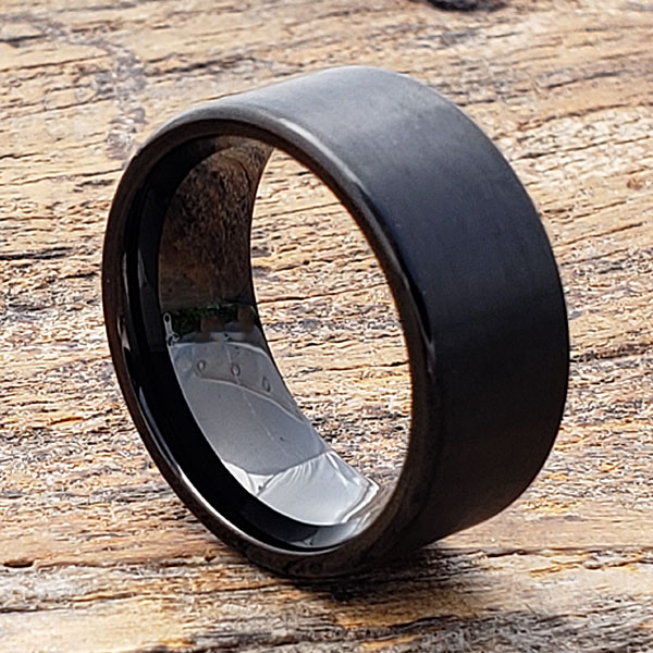 europa-rare-black-brushed-tungsten-rings