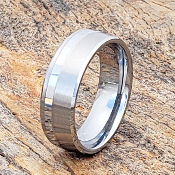 gemini-brushed-raised-7mm-facet-carved-rings