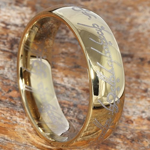 Gold Trilogy LOTR The One Ring
