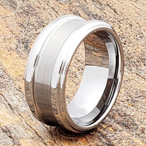 gorgons-brushed-tungsten-10mm-wedding-bands