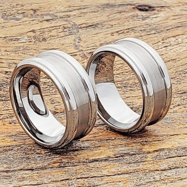 gorgons-brushed-tungsten-wedding-bands