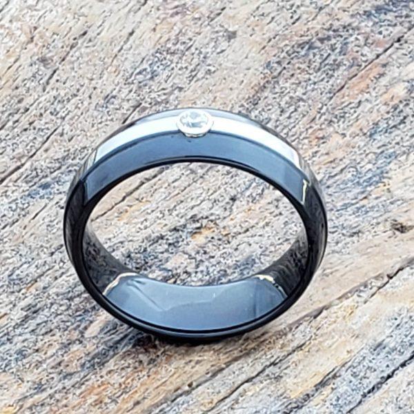 halo-solitaire-gemstone-black-7mm-mens-diamond-rings