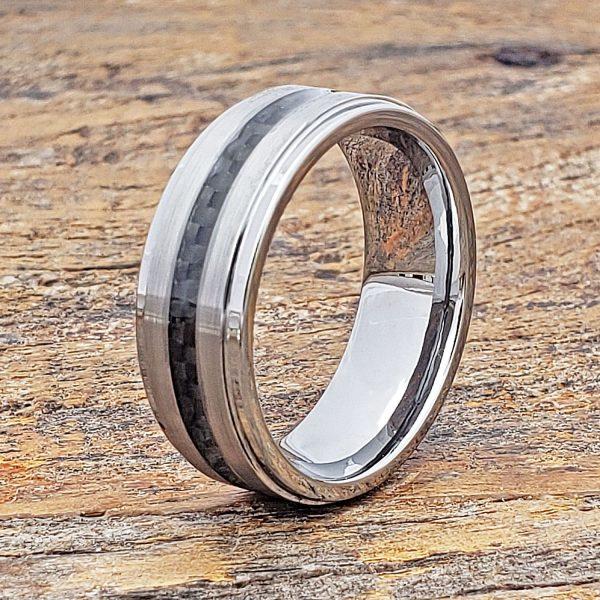 hermes-brushed-black-carbon-fiber-ring