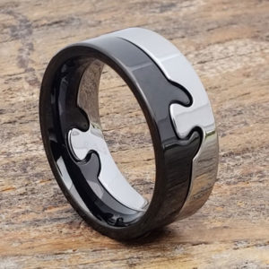 interlocking puzzle rings 9mm