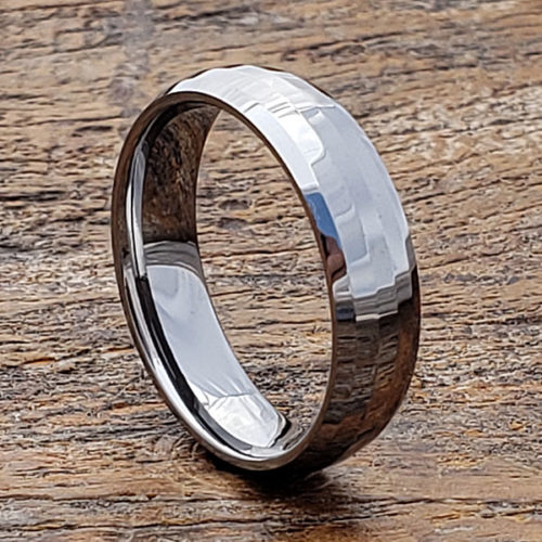 Janus Matching Faceted Tungsten Rings