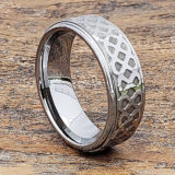 knotwork polished carved rings