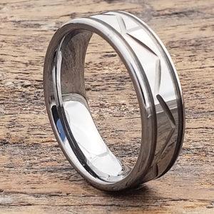 mens carved rings