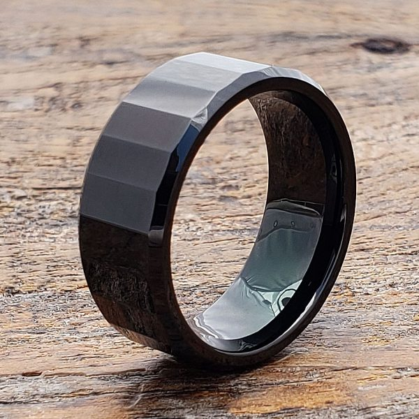 oblong-mens-black-faceted-tungsten-ring