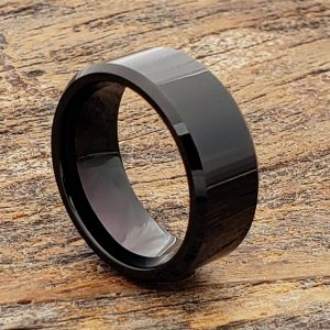 orion-beveled-polished-9mm-black-tungsten-rings