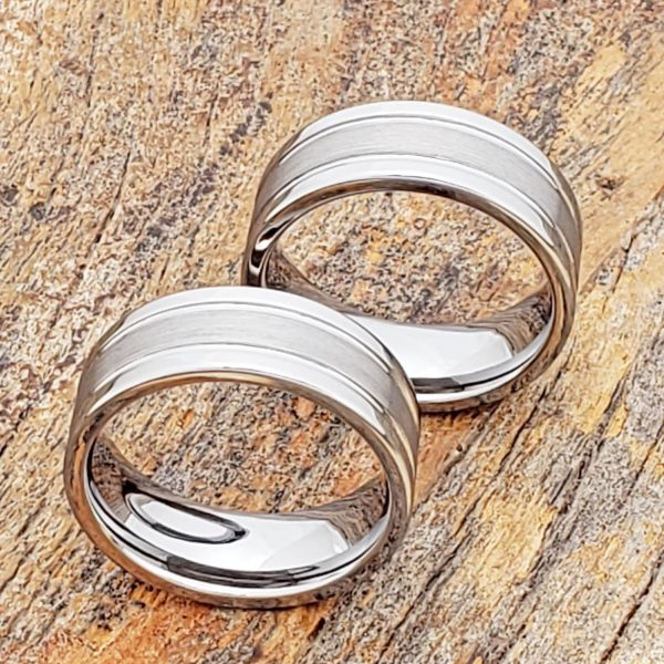 serpico-8mm-brushed-womens-tungsten-rings