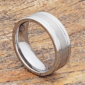 serpico-brushed-8mm-womens-tungsten-rings