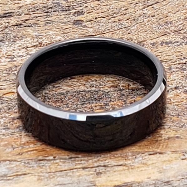 silver-black-tungsten-rings-7mm