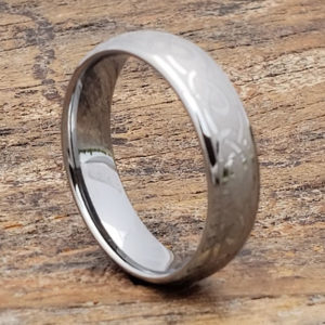 silver knot infinity rings