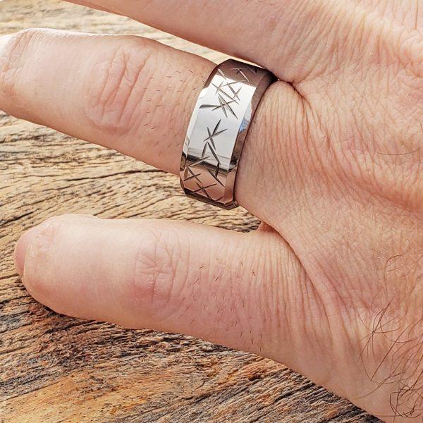 thorns-mens-beveled-carved-rings-10mm