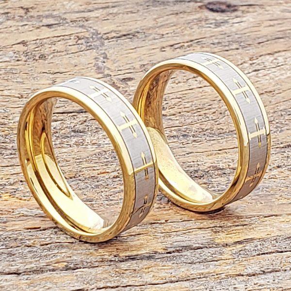 trinity-flat-gold-cross-rings-6mm