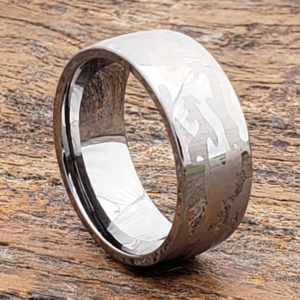 tungsten mens camo rings